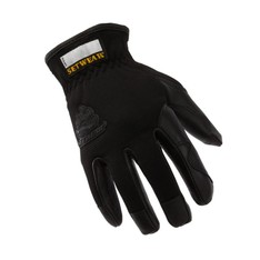 Pro Leather Black Gloves