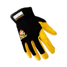 Pro Leather Tan Gloves